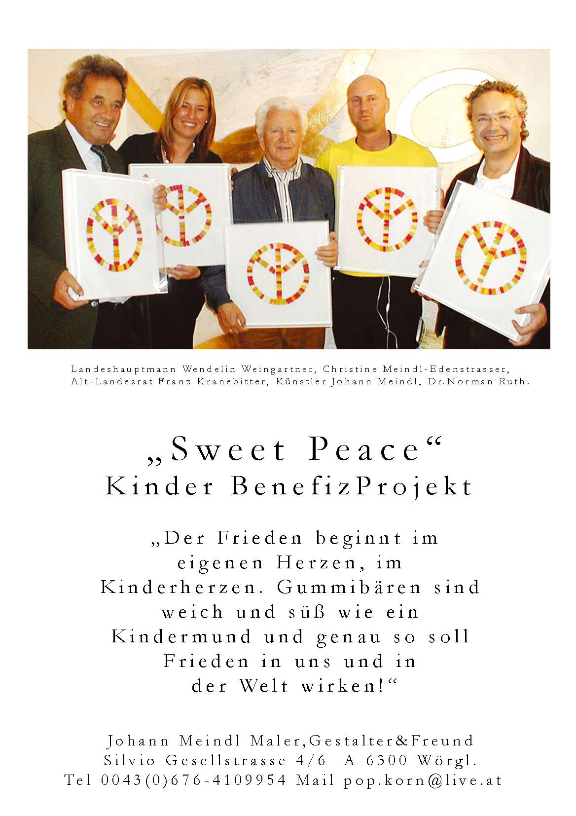 Sweet Peace Projekt Presse